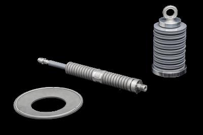 Mubea Tellerfedern kombinieren hohe Federkräfte mit kleinsten Einbauräumen und werden in den unterschiedlichsten Bereichen eingesetzt.