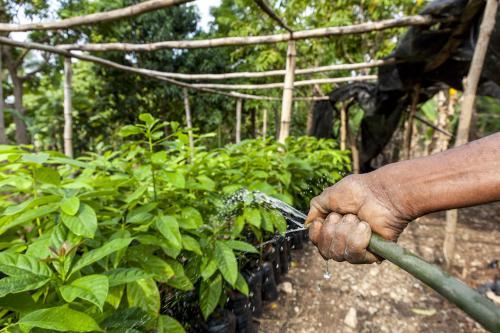 Mubea hilft in Haiti