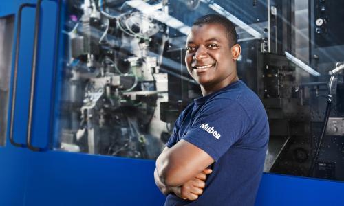 Ausbildungsberuf Maschinen- und Anlagenführer bei Mubea
