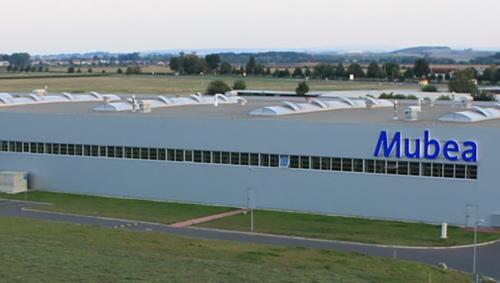 Mubea-Standort Prostejov